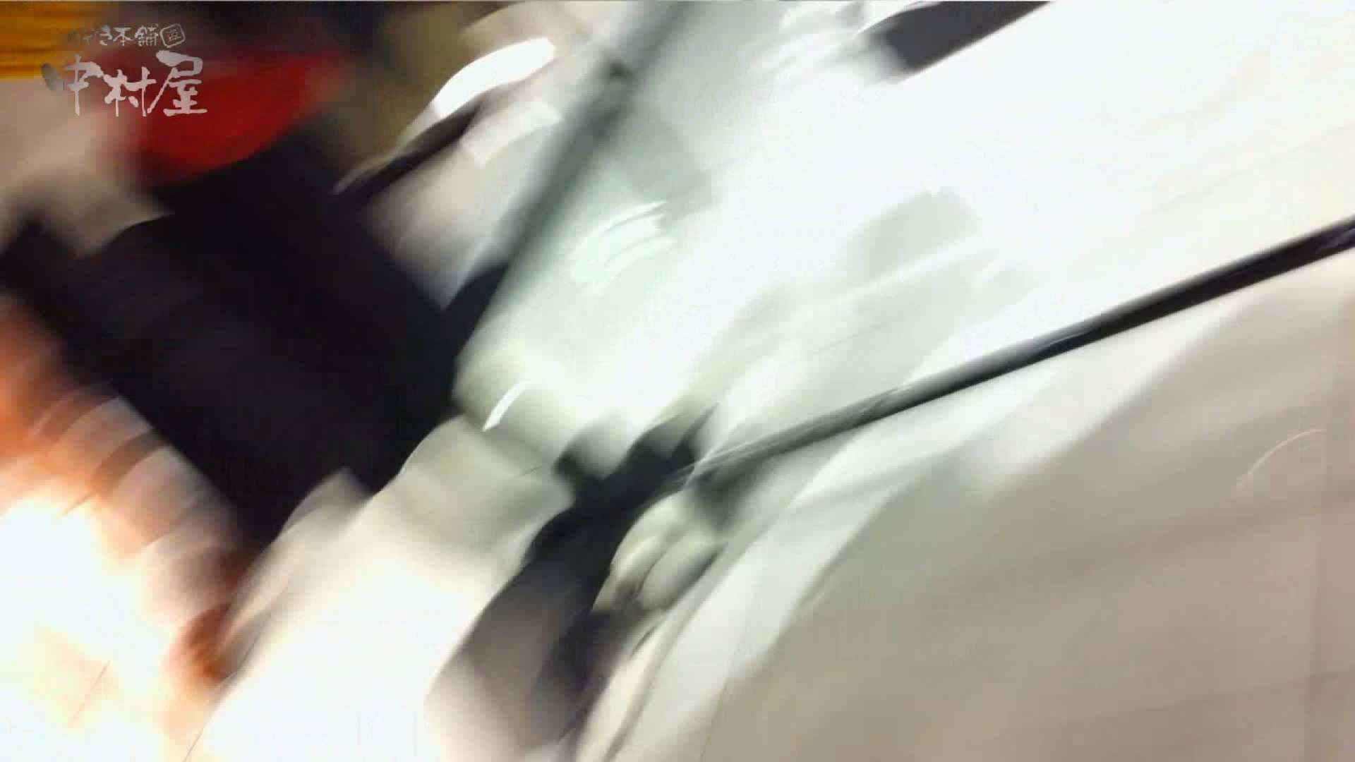 盗撮AV:vol.69 美人アパレル胸チラ&パンチラ ストライプパンツみっけ!:のぞき本舗 中村屋