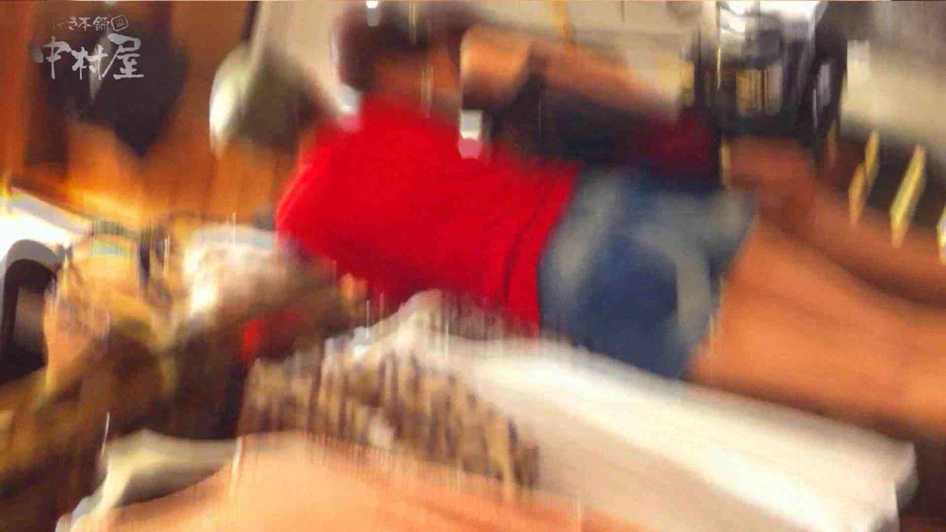 vol.75 美人アパレル胸チラ&パンチラ きれいな髪のおねーさんはド派手パンツ チラ | 胸チラ  93枚 36