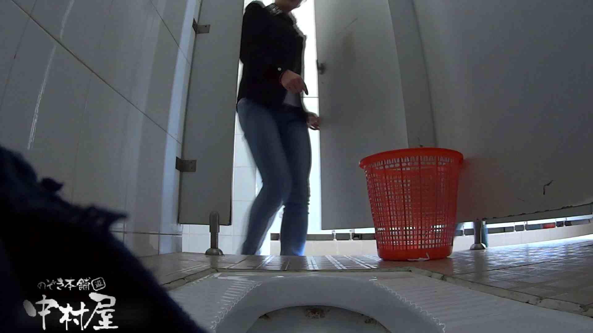 めくれ上がる陰部からの大聖水!大学休憩時間の洗面所事情27 超エロお姉さん 隠し撮りオマンコ動画紹介 77枚 3