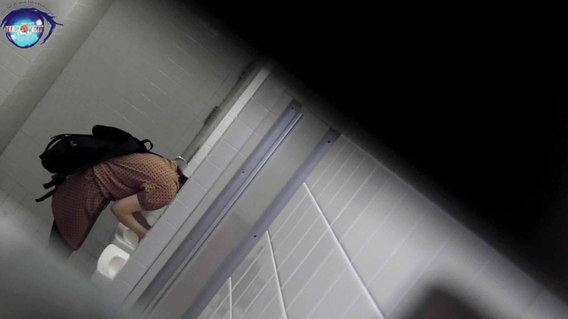 洗面所突入レポート!!お銀 vol.68 無謀に通路に飛び出て一番明るいフロント撮り実現 前編 綺麗なOLたち  63枚 48
