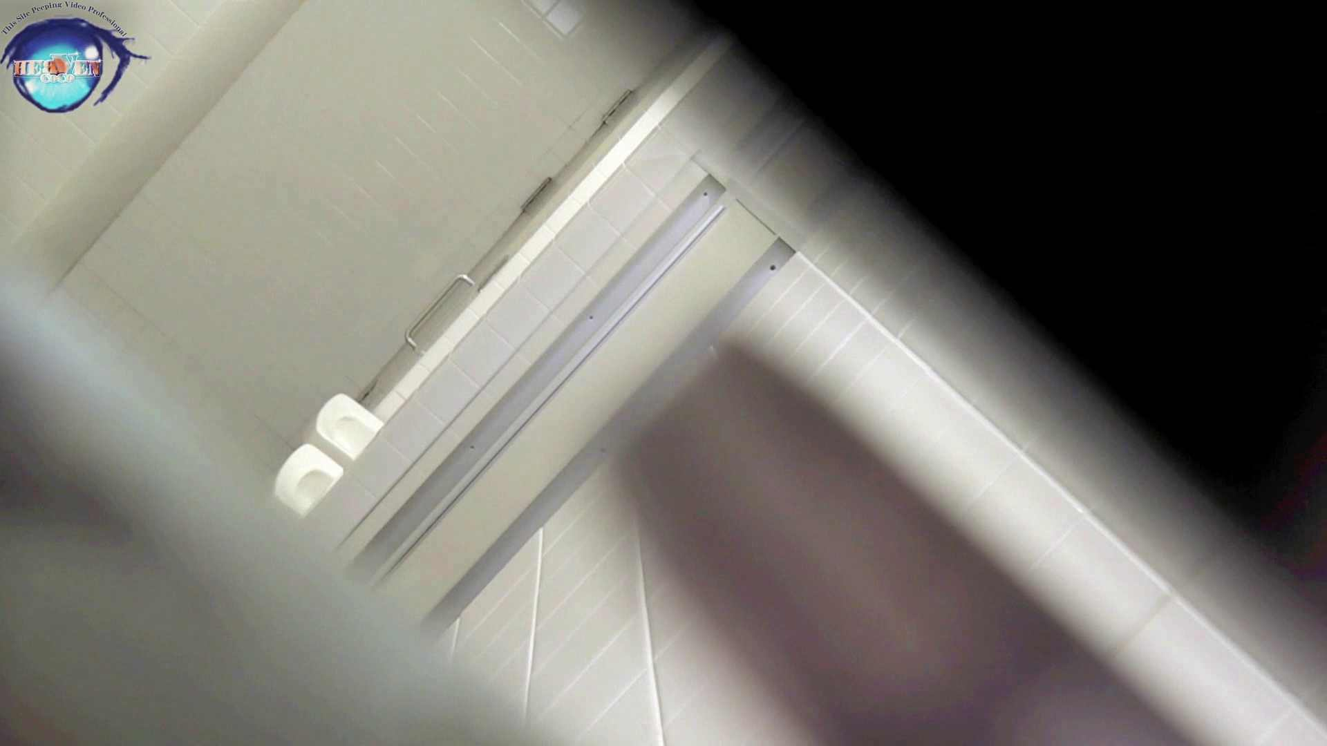 洗面所突入レポート!!お銀 vol.68 無謀に通路に飛び出て一番明るいフロント撮り実現 前編 綺麗なOLたち  63枚 60