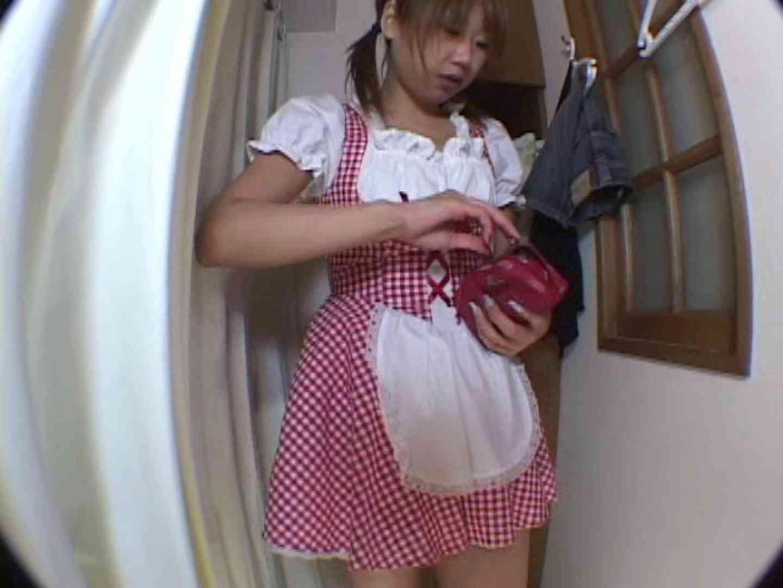 アキバメイドカフェ 萌える嬢の着替え盗撮 下着 盗撮動画紹介 85枚 18