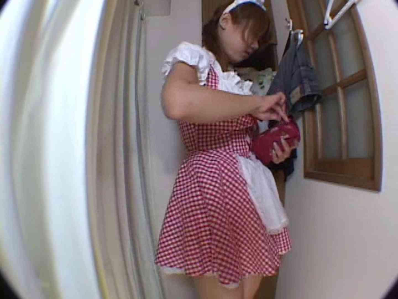 アキバメイドカフェ 萌える嬢の着替え盗撮 超エロメイド 濡れ場動画紹介 85枚 19