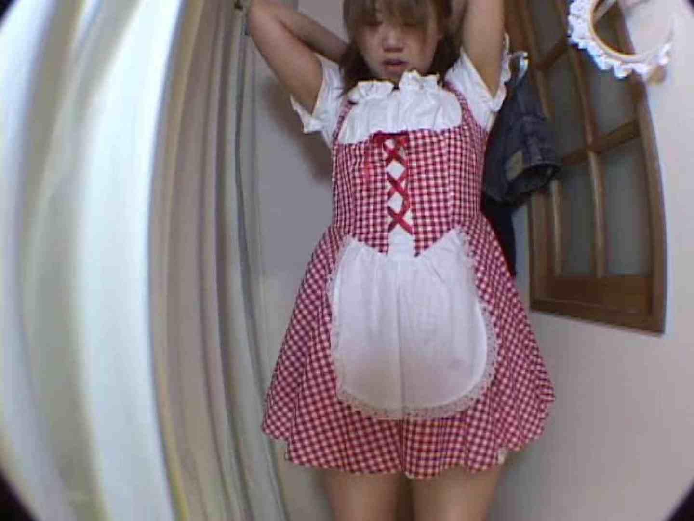 アキバメイドカフェ 萌える嬢の着替え盗撮 超エロメイド 濡れ場動画紹介 85枚 64