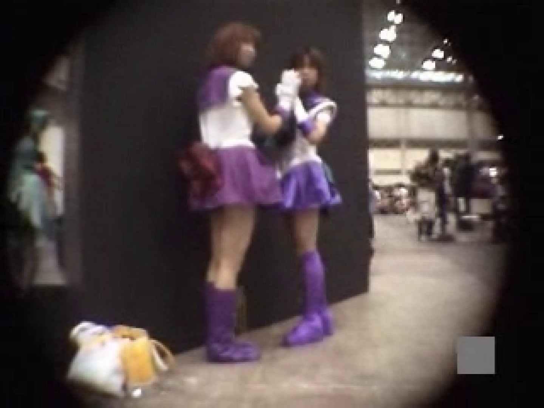 潜入 コスプレ大会! 着替え AV無料動画キャプチャ 55枚 39